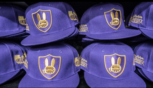 MoonRock Purple & Gold Snapback