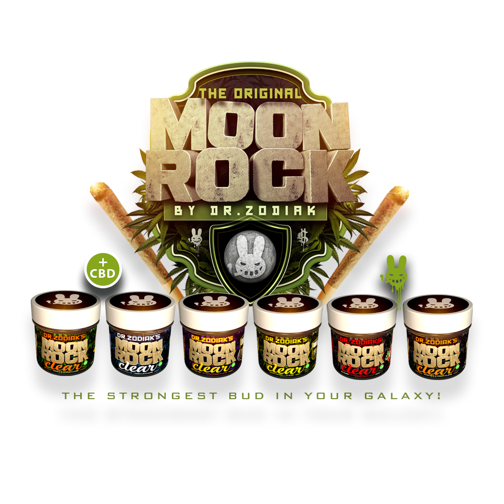 Dr Zodiak's Moonrock – The Strongest Bud In Your Galaxy!